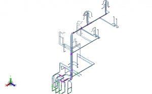 Hot kerosene heat transmission system