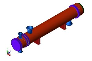 CRUDE-MAIN COLUMNS OVERHEAD EXCHANGER